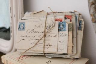 bundles of letters