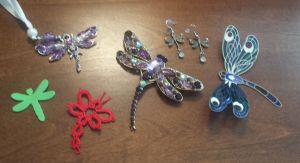 A few of dozens of dragonfly things I have around.