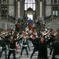 Antwerp Train Station Flash Mob 2009