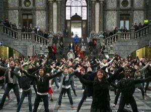 Antwerp Flash Mob