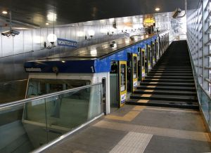 Montesanto Funicular in Naples, Italy, in 2008.