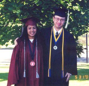 Stef and Bran graduation