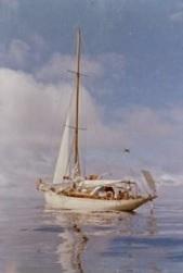 becalmed boat