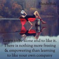 The Art of Being Alone?