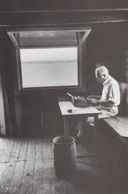 E.B. White writing space