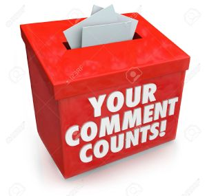 25114193-Your-Comment-Counts-words-on-a-red-suggestion-box-to-illustrate-the-value-and-importance-of-feedback-Stock-Photo