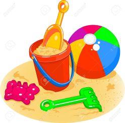 sand bucket and shovel