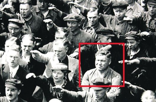 old picture hitler gruss r