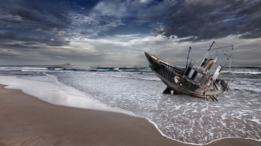 ocean-nature-beach-sea-waves-shipwreck