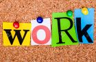 30064339-the-word-work-in-cut-out-magazine-letters-pinned-to-a-cork-notice-board-stock-photo