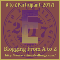 #AtoZChallenge (April 2017) — E!