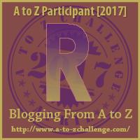 #AtoZChallenge (April 2017) — R!