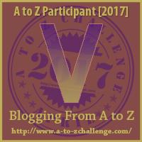 #AtoZChallenge (April 2017) — V!