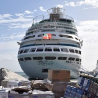 The way the world SHOULD be: Royal Caribbean's Majesty of the Seas turns Relief Ship